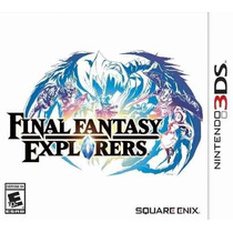 Final Fantasy Explorers Nintendo 3ds Pronta Entrega Original