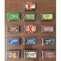 Pokemon Gba Gameboy Advance Paralel0s Salvando -frete Gratis