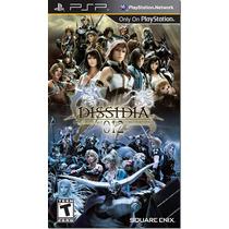 Jogo Final Fantasy 12 - Dissidia Original Para Psp A5737