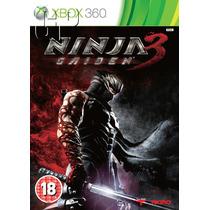 Ninja Gaiden 3 Xbox 360 Original Mídia Física Semi Novo