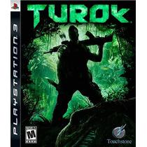Turok Frete Grátis Jogo Playstation 3 Sdgames Confira Aqui!!