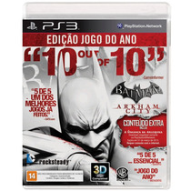 Game Batman Arkham City Goty Ps3