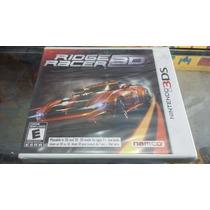Ridge Racer 3d Nintendo 3ds Lacrado.