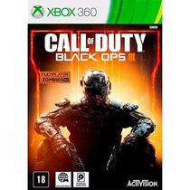 Call Of Duty Black Ops 3 P Xbox 360 Original Br Midia Fisica