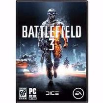 Battlefield 3 - Pc Dvd - Origin - Multiplayer - Frete Grátis