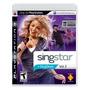 Playstation 3 - Singstar Vol. 2 [só O Jogo]