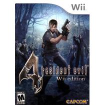 Resident Evil 4 Wii Região Usa | Com Garantia De Loja!