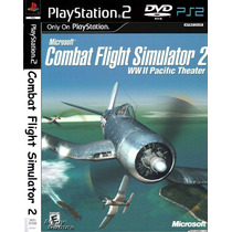 Combat Flight Simulator 2 - Playstation 2 - Frete Gratis.