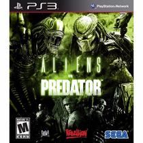 Jogo Playstation 3 Aliens Vs Predator