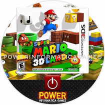 Super Mario 3d Land Jogo Nintendo 2ds 3ds New 3ds Lacrado