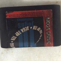 Mega Drive 10 Jogos Em 1 Original Tec Toy Segs Top Ten