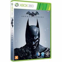 Batman Arkham Origins - Xbox 360 - Novo Original Lacrado.