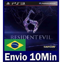 Resident Evil 6 Ps3 Código Psn