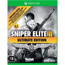 Sniper Elite 3 Ultimate Edition Xbox One Mídia Física Lacrad
