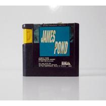 Cartucho Jogo James Pond Original Sega Genesis - Mega Drive
