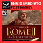 Total War Rome 2 Ii Emperor Edition - Steam Key Pc Original