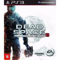 Dead Space 3 Edição Limitada Lacrado Mídia Física Rcr Games
