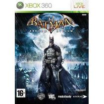 Jogo Batman Arkham Asylum Ntsc Original Xbox 360