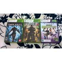 Dark Souls + Gears Of War 3 + Sports (kinect) Para Xbox 360