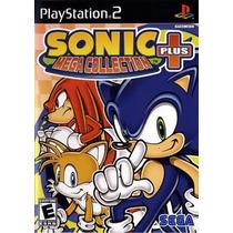 Sonic Mega Collection Plus Ps2 Patch Frete Unico
