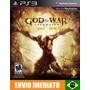 God Of War Ascension - Ps3 - Código Psn - Envio Agora !!