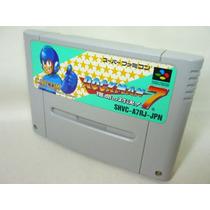 Linda Rockman 7 Original Super Famicom Capcom Zerada!