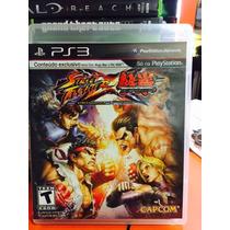 Jogo Street Fighter X Tekken Playstation 3, Em Portugues
