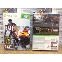 Battlefield 4 Xbox 360 Ed Brasil + Filme Tropa De Elite Novo