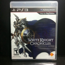 White Knight Chronicles - Lacrado + Pronta Entrega