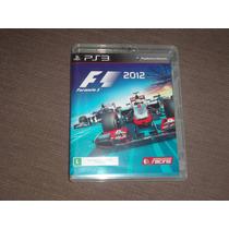 Formula 1 2012 ( Jogo Original Ps3 Mídia Fisica )
