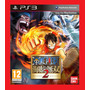 One Piece Pirate Warriors 2 Ps3 - Cód. Psn Envio Via Email