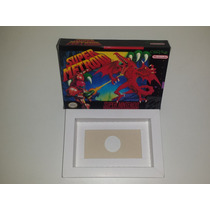 Caixa Super Metroid + Berço Incluso, Super Nintendo!!