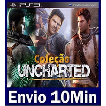 Uncharted 1 2 E 3 Ps3 Código Psn