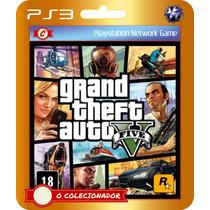 Gta Grand Theft Auto V (código Ps3)