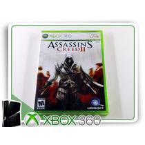 X360 Assassins Creed 2 Original Xbox 360 Lacrado
