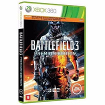 Battlefield 3 Premium Edition Xbox 360 Midia Fisica Original