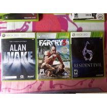 3 Jogos Originais Xbox 360 Por Apenas