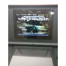 Need For Speed Most Wanted Game Boy Advance Gba Nintendo