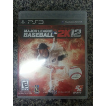 Major League Baseball 2k12 Ps3