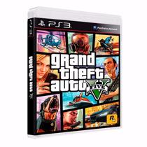 Grand Theft Auto V Original Gta 5 Português Mídia Física Ps3