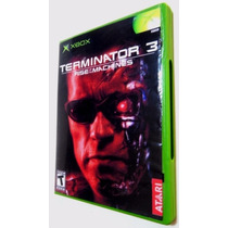 Terminator 3 Original X-box Classic E 360 Com Hd
