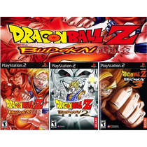 Patches Dragon Ball Z Budokai 1 2 E 3 Patches De Ps2 (mod)