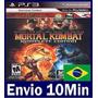 Mortal Kombat Komplete Edition - Ps3 - Código Psn