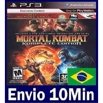 Mortal Kombat Komplete Edition - Ps3 - Código Psn