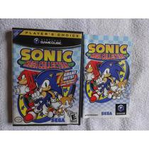 Sonic Mega Collection Original Americano E Completo.confira!