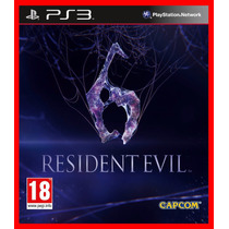 Resident Evil 6 Re 6 Ps3 Psn Br Promocao