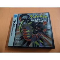 Pokemon Platinum Para Ds, Dsi, 3ds E 2ds Original Americano