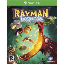 Rayman Legends Xbox One - Midia Física