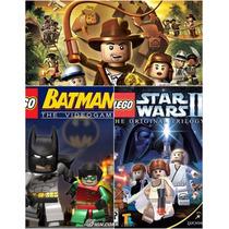 Patch Kit Lego Batman+ Star Wars2+ Indiana Jone Frete Barato
