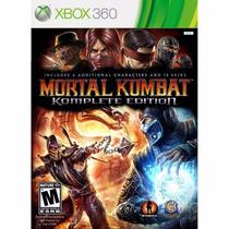 Jogo Mortal Kombat 9 Xbox 360 Novo Xbox
